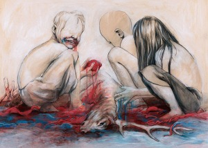 Macabre-Painting-by-Taylor-White